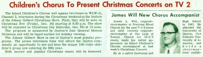 Inlander TV and James Will 1965